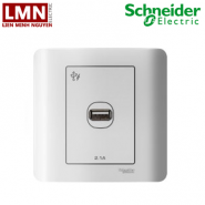 E8431USB_WE_G19-schneider-o-sac-don-cong-usb-2.1a-mau-trang